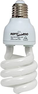 REPTI ZOO Energy Saving Lamps UVB Bulb,Spiral Compact 15 Watts 26 Watts UVB 10.0 Reptile Light Bulb Fit for Desert Type Reptile/Snake/Lizard/Insect/Leopard Tortoise