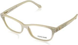 Roberto Cavalli RC0928 - 024 Eyeglass Frame white w/ Clear Demo Lens 54mm