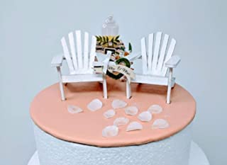 Admirable Amazon Com Beach Chair Cake Toppers Gamerscity Chair Design For Home Gamerscityorg