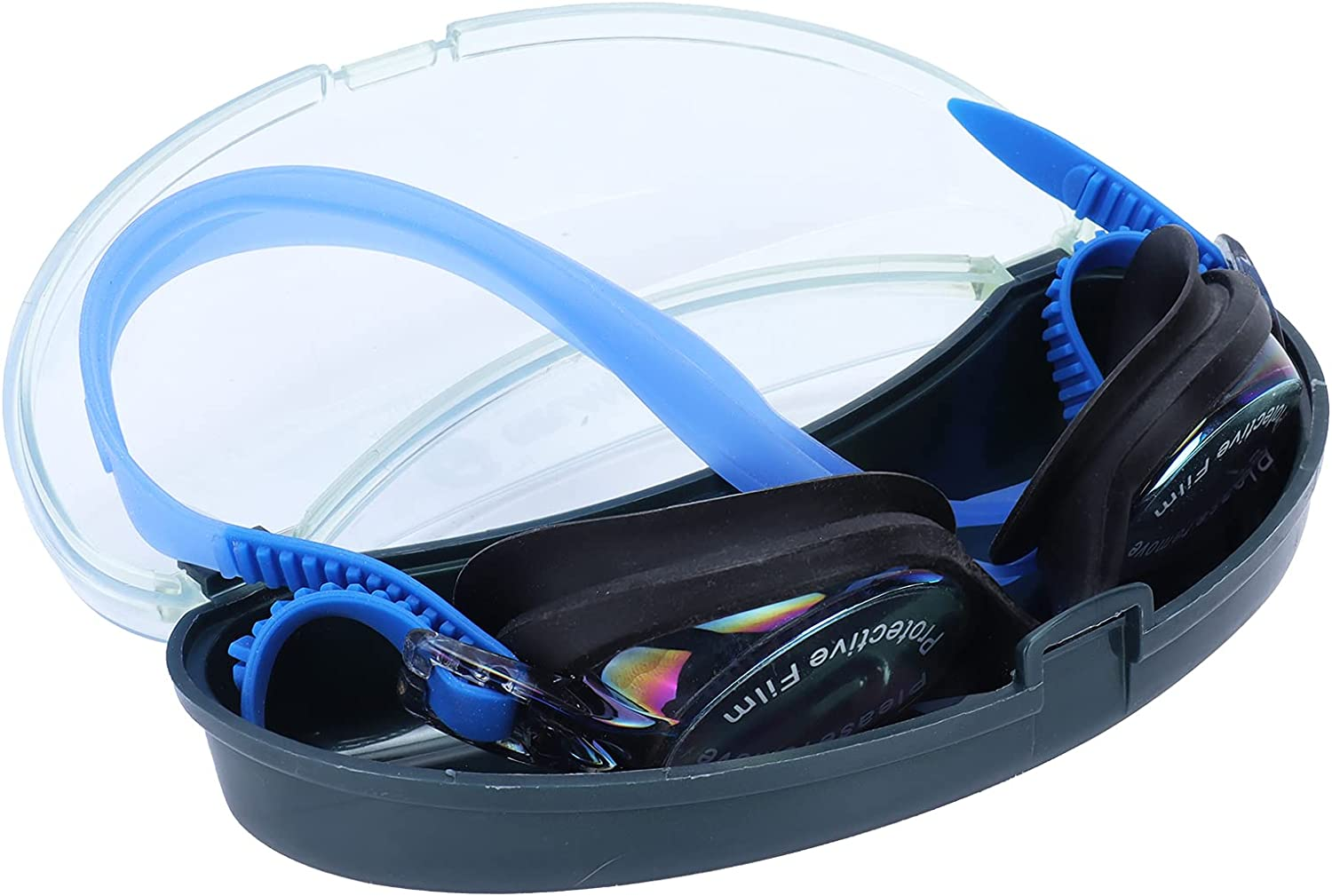 Duokon Swimming Special price Glasses Goggles Free shipping anywhere in the nation Case AntiF with