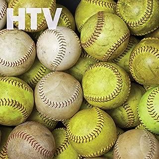 Softball and Baseball Pattern HTV, 12
