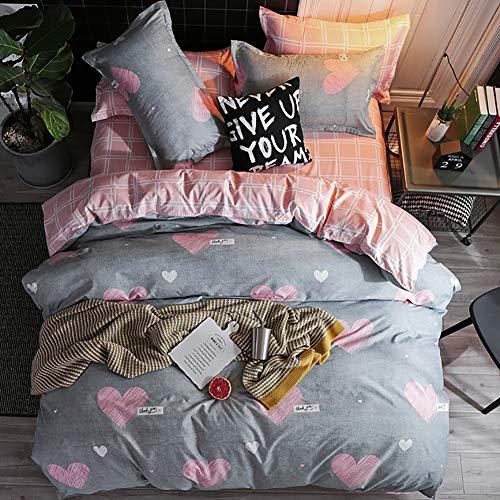 Mitchell Mitchell-DE-AGSJT-01 Juego de cama infantil de 2 piezas, reversible, con cremallera y funda de almohada