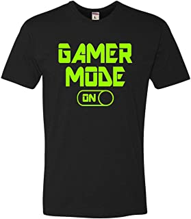 Go All Out Adult Gamer Mode On Funny Gaming Deluxe T-Shirt