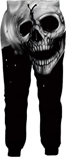 Mens Womens Joggers Pants Funky 3D Graphic Sweatpants Novelty Sports Trousers with Drawstring