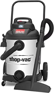 Shop-Vac 10 Gallon 6.5 Peak HP Stainless Contractor Wet Dry Vacuum - 9627710