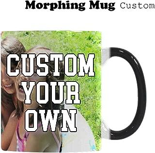 Custom Mugs Design Your Own Add Photo or Text Personalised Morphing Mug, Sports Bottle, Travel Mug 300-350ml