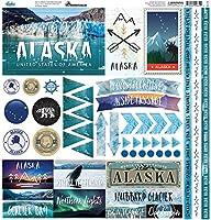 "Reminisce Elements Cardstock Stickers 12""x12""-alaska Cruise"