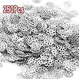 250X Metall Spacer Perle Zwischenperlen Metallperlen