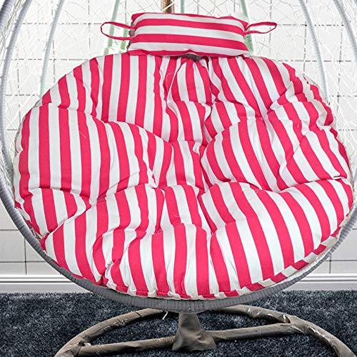 HUHUA Amaca Dell'uovo Appeso Cuscino, Poltrona pensile per Uova, Cuscino sedie morbide Cuscino, Ispessito Cuscini Rotondi Imbottiti