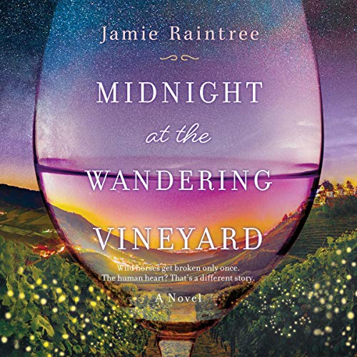 Midnight at the Wandering Vineyard audiobook cover art
