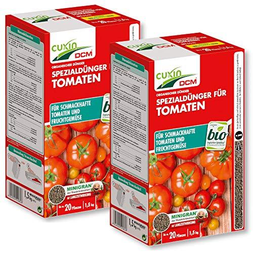 Cuxin Tomatendünger 3 kg Dünger Tomaten Gemüse Obst Garten Organisch Bio Öko