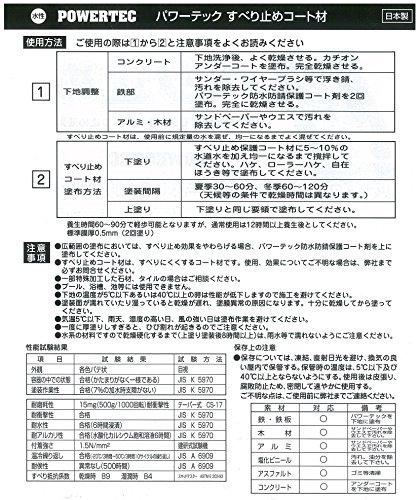 丸長商事 パワーテック すべり止めコート材 17631 [0454]