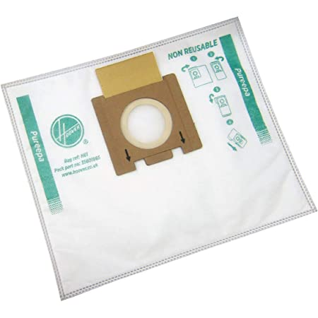 TTE 2407 10x Dust bags microfibre for Hoover Telios Plus