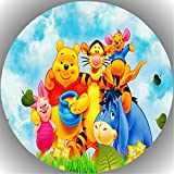 Fondant Tortenaufleger Tortenbild Geburtstag Winnie Pooh T74