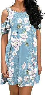 Best floral dress cold shoulder Reviews