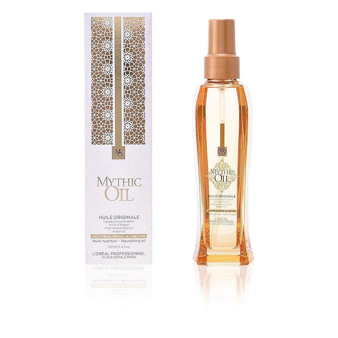 おいしい商標歴史ロレアル Professionnel Mythic Oil Nourishing Oil (For All Hair Types) 100ml/3.4oz
