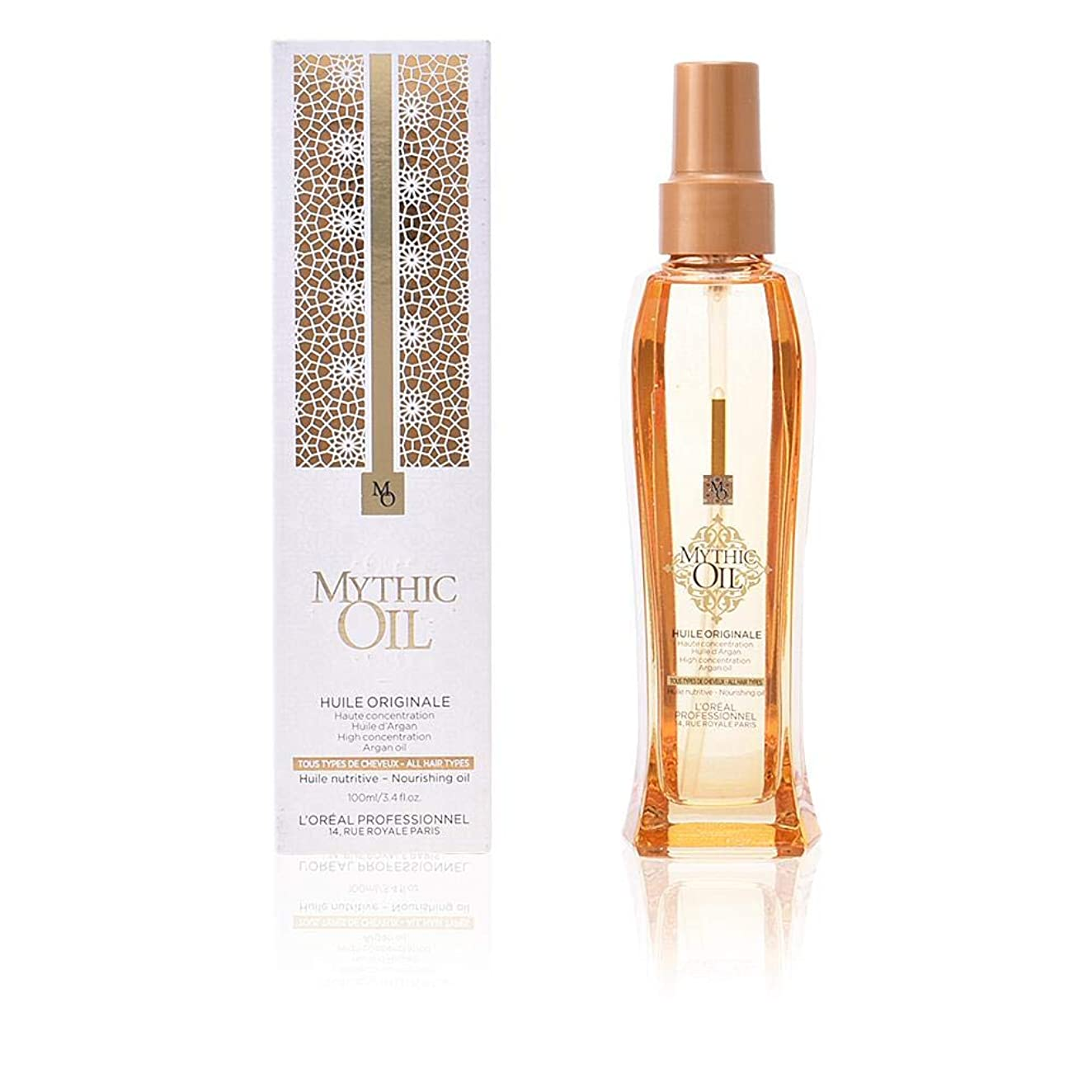 パイプラインドラム強大なロレアル Professionnel Mythic Oil Nourishing Oil (For All Hair Types) 100ml/3.4oz