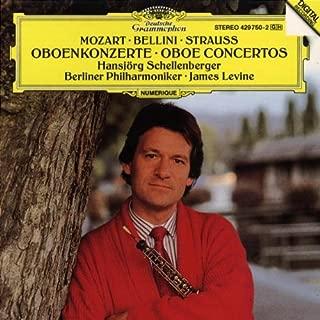 Mozart: Oboe Concerto in C Major, K. 314 / Bellini: Oboe Concerto in E flat Major / Strauss: Oboe Concerto in D Major