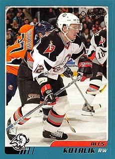 2003-04 O-Pee-Chee Hockey Card #24 Ales Kotalik Buffalo Sabres Official NHL Trading Card