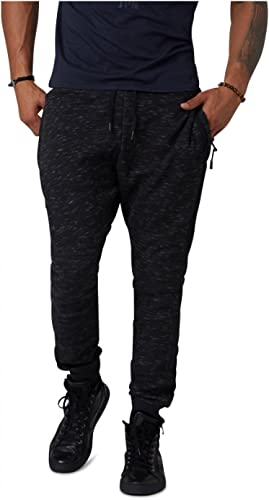 rougeskins Pantalon de survêteHommest Wilfried Corvette (Noir)
