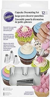 Wilton 12 Pieces Cupcake Decorating Icing Tips