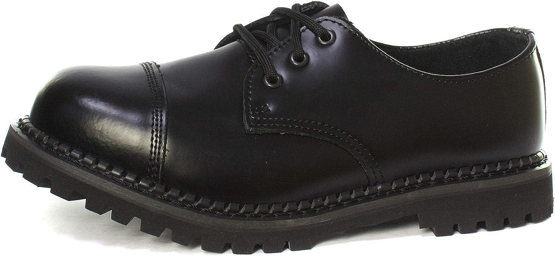 Grinders Regent CS Black Mens Steel Toe Cap Lace Up shoes