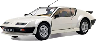 Solido Alpine A310 Pack GT, 1983, modelauto, modelvoertuig, schaal 1:18, wit