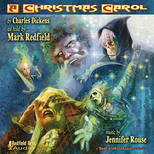 Charles Dickens' A Christmas Carol as Told by Mark Redfield cover art