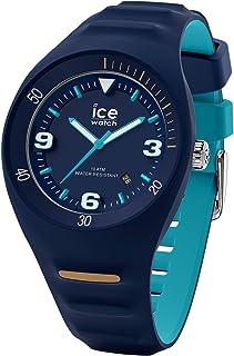 Ice-Watch - P Leclercq Blue Turquoise - Montre Bleue pour Homme avec Bracelet en Silicone - 018945 (Medium)