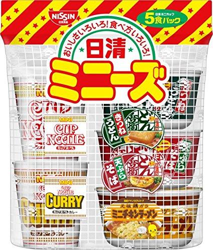 日清食品 日清ミニーズ [東] 5食パック 205g×6パック