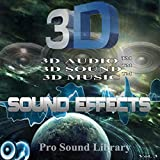 3D Sound Effects Pro Sound Library Remastered in 3D Audio TM, Vol. 3