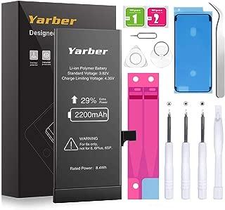 Capacidad Alta 2121 mAh//Anno 2019 Smartex/® Black Label Bater/ìa Compatible con iPhone iPhone 6