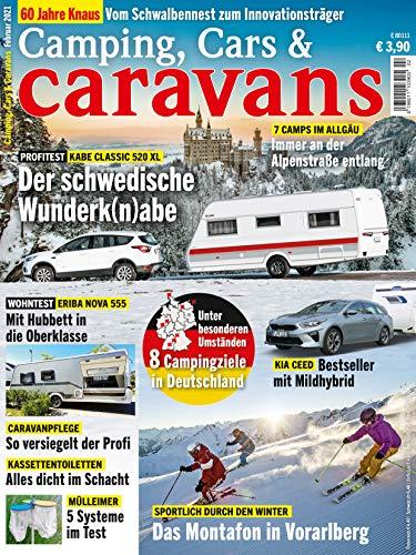 """Camping, Cars & Caravans 2/2021 \""""Der schwedische Wunder(n)abe\"""""""