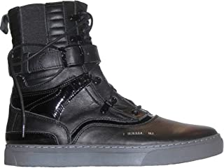 Godspeed Military Style Men's Designer Combat Leather Tall Boots Black Size 7 to 13