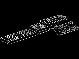 ストライクインダストリー AK リアサイト・レイルマウント Ver.2 S05-013