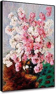 RTCKF Lienzo Pintura al óleo Nordic Retro Carteles e Impresiones Acuarela Flor Brillante decoración del hogar Ideas de la Sala decoración del hogar Sala de Estar Lienzo A3 50x70cm