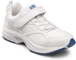 Dr. Comfort Spirit Women's Therapeutic Diabetic Extra Depth Shoe Leather No-Tie Elastic Lace