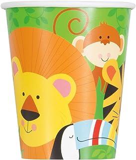 9oz Animal Safari Party Paper Cups, 8ct