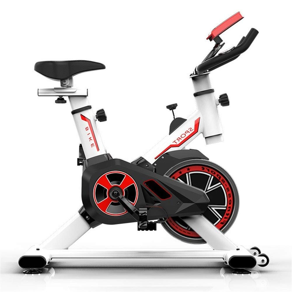 KUANGQIANWEI Bicicleta Spinning Bicicleta Que Hace Girar El Equipo Casero De La Aptitud De La Bicicleta Cubierta Pérdida De Bicicletas Deportes Peso De La Aptitud: Amazon.es: Deportes y aire libre
