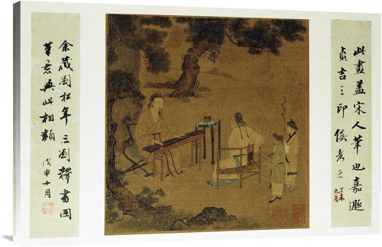 Global Galerie Budget Budget Budget gcs-265670–91,4–360,7 cm Unbekannt hören der Qin Galerie Wrap Giclée-Kunstdruck auf Leinwand Art Wand B01K1Q96OS | Authentische Garantie  886cb6