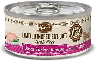 Merrick Limited Ingredient Diet Real Turkey Recipe Cat 24/5Z