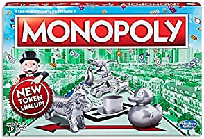 MONOPOLY - Classic game - 2 to 6 Players - Family Board Games and toys for kids - Ages 8+