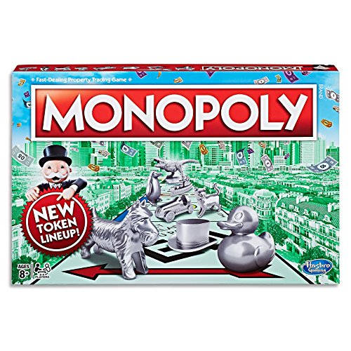 MONOPOLY - Classic Family Board Game - Buy, Sell, Dream and Scheme your way to Riches - Board Games and Toys for Kids - Boys and Girls - Ages 8+