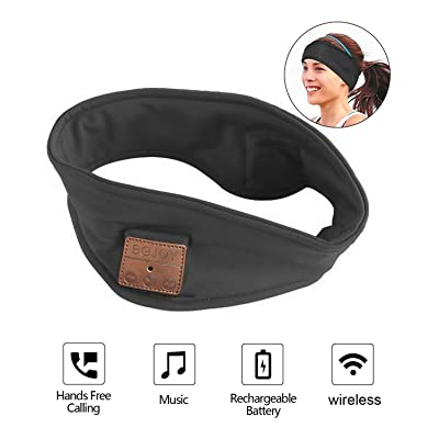 Bluetooth Headband Sweatband with Wireless Head...