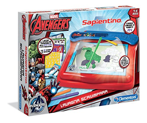 Clementoni - Ardoise Magique pour Enfant Avengers