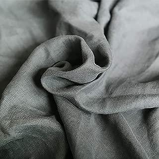 Home-soft Sábanas de Lino Natural 100% francesas, sábanas súper King Suaves de Color sólido Simple, Disponibles en 9 Colores glamorosos,D,Emperor