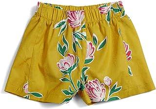 Shorts Primavera Green Amarelo - Infantil Menina