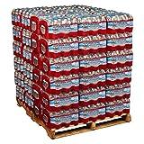 Crystal Geyser Pallet Of 84 Cases, Of Alpine 100% Natural Spring Water, 24 16.9oz bottles per Case, Bottled at The Source