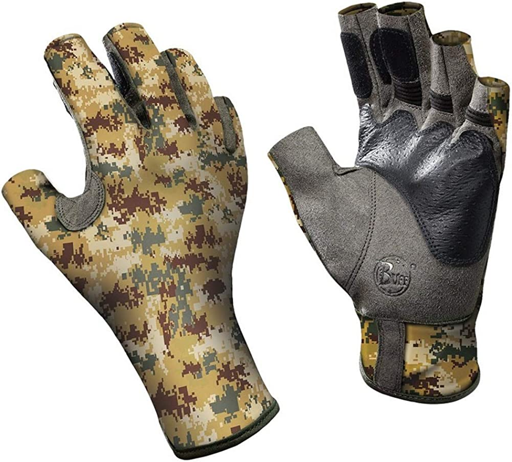 Buff Pro Series Angler II Gloves Special price for a limited time - Desert M Year-end annual account Pixel S