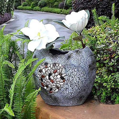 -shaped Garden Planter Flower Pot Decorative Irregular Edge Bonsai Zen Antique For outdoor decoration